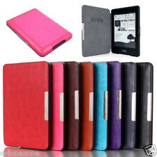 Ultra Slim Magnetic Leather Smart Case Cover for Amazon Kindle TOUCH 2014 7th GE