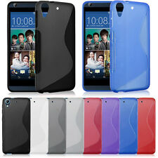 Flexible Soft Slim GEL TPU Rubber Case Cover Skin For HTC Desire 626 626S Newly