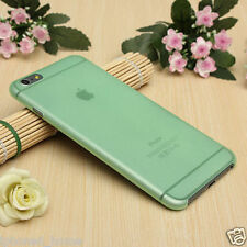 Transparent Green Matte Frosted Thin 0.3mm Case Cover For iPhone 6/6s Plus 5.5""