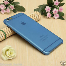 Transparent Blue Matte Frosted Slim 0.3mm Hard Case For iPhone 6/6s Plus 5.5""