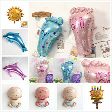 Boy Girl Baby Shower Foil Helium Balloon Christening Birthday Party Decoration​