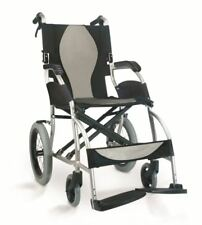 MWC301866-Karma Transit Wheelchair-Ergo Lite-Fixed Foot Plates