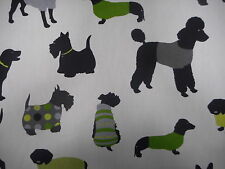 Prestigious Textiles Mans Best Friends Dogs Kiwi 100% Cotton Curtain Fabric