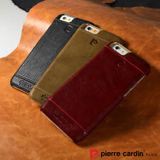 Luxury Genuine Leather Cover Hard Back Case For Apple iPhone 6 6s Plus 5G/5S New