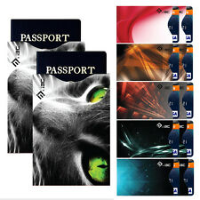 Anti-Theft RFID Blocking ID Credit Card & Passport Holder Protector Sleeves Gift