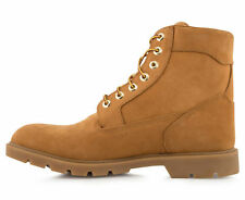 Timberland Men's 6-Inch Basic Boot - Wheat Nubuck-WATERPROOF WORK BOOTS