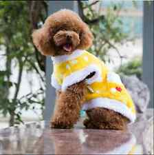 Lovely dog clothes teddy clothes pet dog wave point Autumn and winter