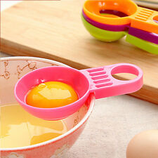 Colorful Kitchen Eggs Separator Cooking Tools Kitchen Plastic Egg Yolk Separator