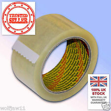 6 Rolls | 3M™ Scotch® Parcel Packing 371 Tape | 48mm x 66m | Clear Transparent