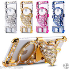 "Rhinestone Diamond LOVE Bumper Case Cover + Stand For iPhone 6/6s PLUS (5.5"")"