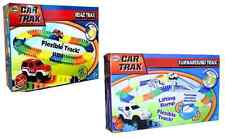 CHILDRENS BOYS KIDS FLEXIBLE CAR TRAX ROAD TRACK PLAYSET TOY RACE XMAS GIFT