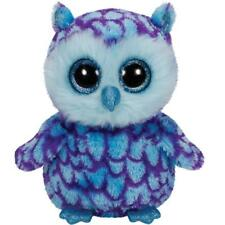 Ty Beanie Boos Oscar Owl Stuffed Animal Cuddle Plush Animal Owl