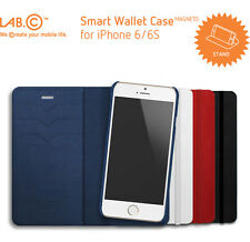 LAB.C Smart Wallet Case Cell Mobile Phone Back Cover Skin for Apple iPhone 6 6S