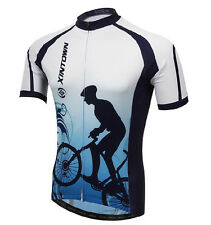 Challenger Men's Bike Bicycle Short Sleeve Jerseys T-shirt Cycling Clothing Tops