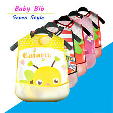 Cute Infant Baby Boy Girl Burp Cloth Bib Waterproof Saliva Towel Feeding Tools