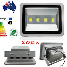 200W Cool White 240V Outdoor Lamp IP65 Waterproof Floodlight LED Flood Lights
