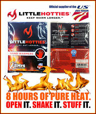 LITTLE HOTTIES HAND WARMERS 2, 5, 10, 20 or 40 Pairs Pocket Glove Heat Warming