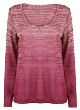 Brand New Ladies Ex Next Long Sleeve Pink Sequin Jumper knitwear Top Size 6-22