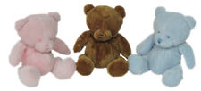 KORIMCO BUBZEE NURSERY NEW LINE CUTE BEAR WITH RATTLE  20CM