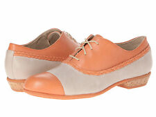 Wolverine 1883 Maise Women Suede Leather Oxford Shoes Lace-Up Peach/Stone 8.5,9