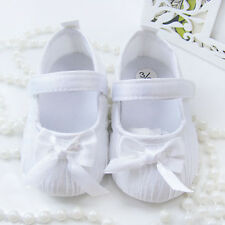 Infant Toddler Baby Girl Princess Dress Shoes Soft Sole Crib Shoes Prewalker L49