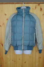 VTG 1st Down GOOSE DOWN Jacket BLUE Women's LARGE Great Condition MADE IN USA