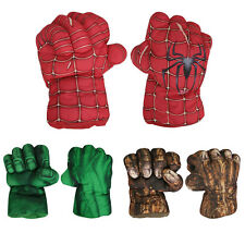 Spider Man Smash Hands Soft Toy Doll Boxing Gloves Big One Pair Funny Cosplay