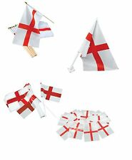 #ENGLAND ST GEORGE FLAG BOUNTING FANCY DRESS PARTY DECORATIONS