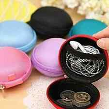 Cool Style MIni  Zip-Around Key Coin Money Headset Storage Bag Wallet Purse Gift