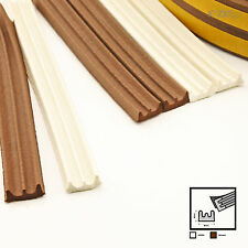 5m E Foam Draught Self Adhesive Window Door Excluder Seal Strip Rubber EPDM