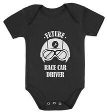 Future Race Car Driver - Cool Baby Grow Vest Funny Baby Onesie Gift Idea