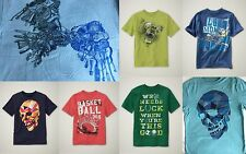 NWT GAP Kid Favorite Graphic Tee T-Shirt Tees NEW Football Skull Basketball Bear