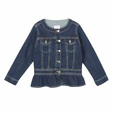 J By Jasper Conran Kids Girls' Dark Blue Denim Jacket From Debenhams