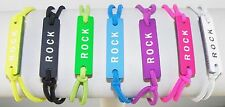 ROCK Friendship Bracelet / Bangle Unisex Assorted Colors Adjustable Elastic Band