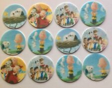 12 x 4cm The Peanuts Movie, Snoopy Edible Cupcake Toppers - PRECUT
