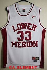 Nike NBA Kobe Bryant Lower Merion High School Throwback Swingman White Jersey
