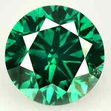 Cubic Zirconia Emerald Green Round AAA Rated CZ Loose Stones (1mm - 18mm)