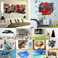 37 Type 3D Removable Vinyl Sticker Art Wall Mural Decal Kids Bedroom Home Decor