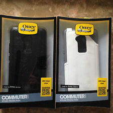 OtterBox Commuter Series for HTC One Max - Retail Packaging - Black & White
