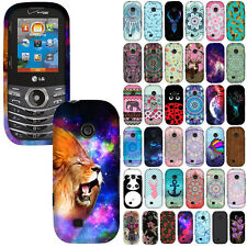 For LG Cosmos 2 VN251/Cosmos 3 VN251S Design SNAP ON Hard Protector Case Cover