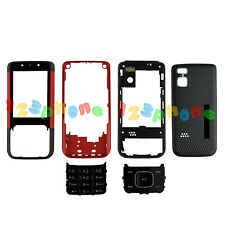 FULL HOUSING CASE + BATTERY COVER + KEYPAD + SCREEN LENS FOR NOKIA 5610