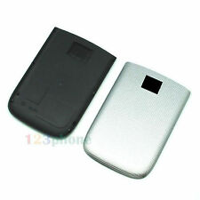 HOUSING BATTERY REAR BACK COVER DOOR FOR BLACKBERRY TORCH 9810 SILVER / WHITE