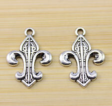 20/40/100 pcs wholesale:very beautiful Tibet silver charm pendant 25x18 mm