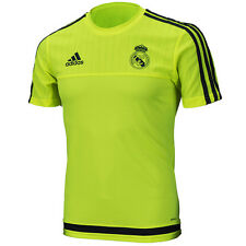 Adidas Real Madrid 2016-2017 Training Top Shirts Jersey Solar Yellow S88956
