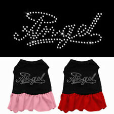 Dog Dresses - ANGEL Rhinestone - Poly/Cotton *Many Sizes and Colors*