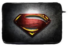 Superman New Logo Laptop Case Sleeve Bag Tablet Ultrabook Chromebook Gift
