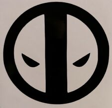 Deadpool Logo Vinyl Sticker Decal home laptop choose size and color