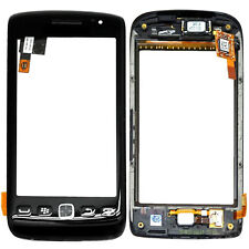 TOUCH SCREEN DIGITIZER GLASS LENS + FRAME FOR BLACKBERRY 9860 TORCH