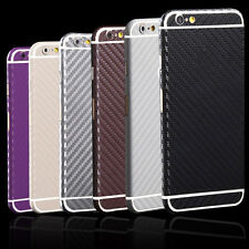 Carbon Fiber Sticker Full Body Film Screen Protector Skin For iPhone & Samsung #