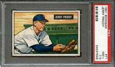 1951 BOWMAN  JERRY PRIDDY #71  NM   PSA  7.5